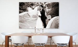 Canvas-print-wedding