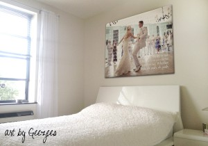 wedding-photos-on-canvas-bedroom-romantic-gift